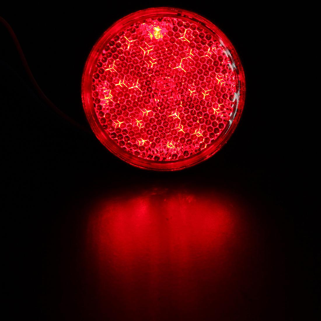 12v led r flecteur rouge jaune blanc feu arri re lumi re 3c rm02 camion remorque ebay. Black Bedroom Furniture Sets. Home Design Ideas