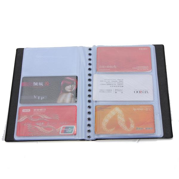 Book Cover Business Cards ~ Hks business name card book booklet wallet holder case