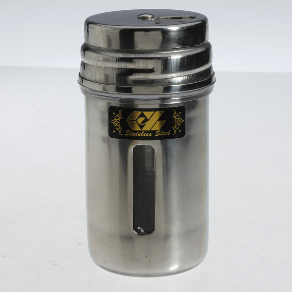 Stainless spice salt pepper herbs toothpick storage shaker jar sugar bottle new ebay - Toothpick shaker ...