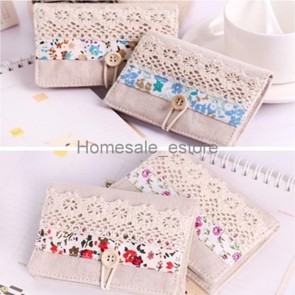 Women-Canvas-Flower-Business-ID-Bank-Credit-Card-Pocket-Bag-Wallet-Holder-Case