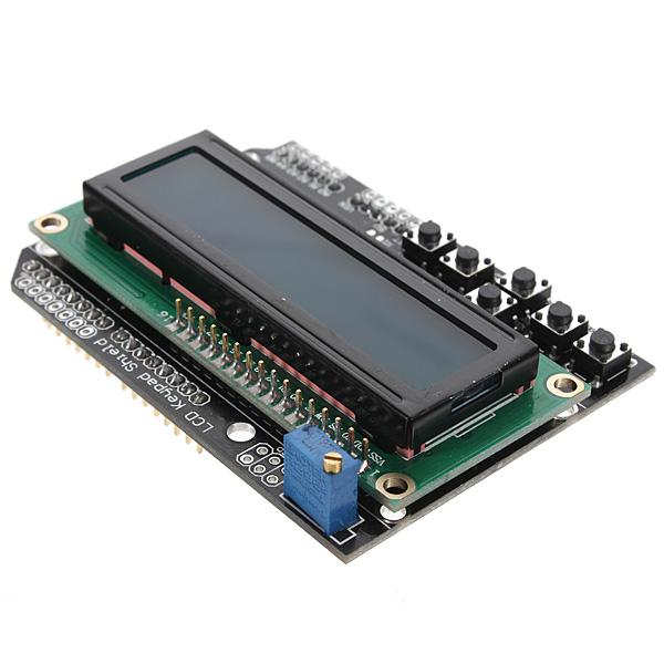 Arduino lcd keypad shield board blue backlight