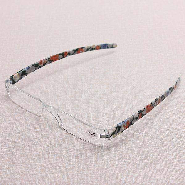 Rimless Glasses Singapore : Rimless Presbyopic Reading Glasses with Case +1.0 Lazada ...