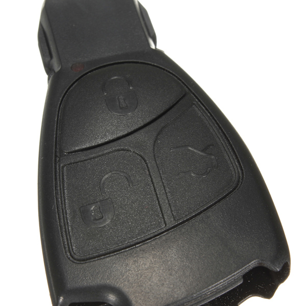 Remote smart key shell case fob replacement 3 buttons for for Mercedes benz smart key replacement