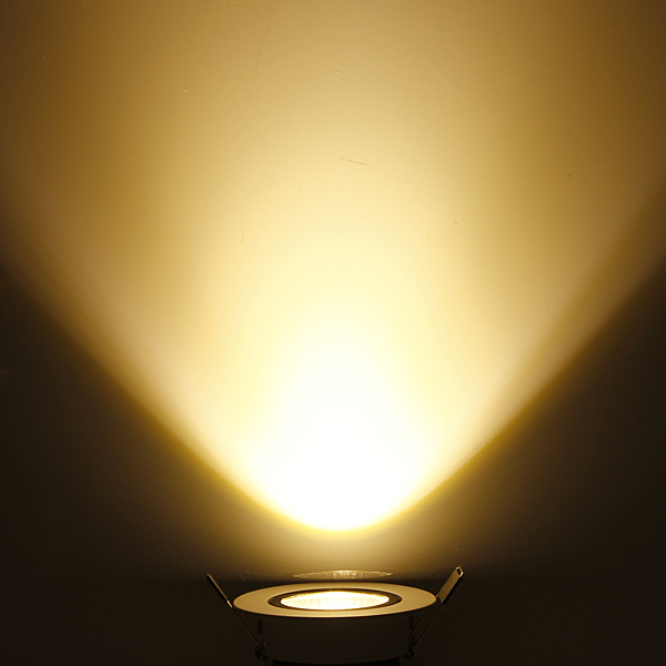cob led downlight kit fixture recessedceiling light bulb warm white