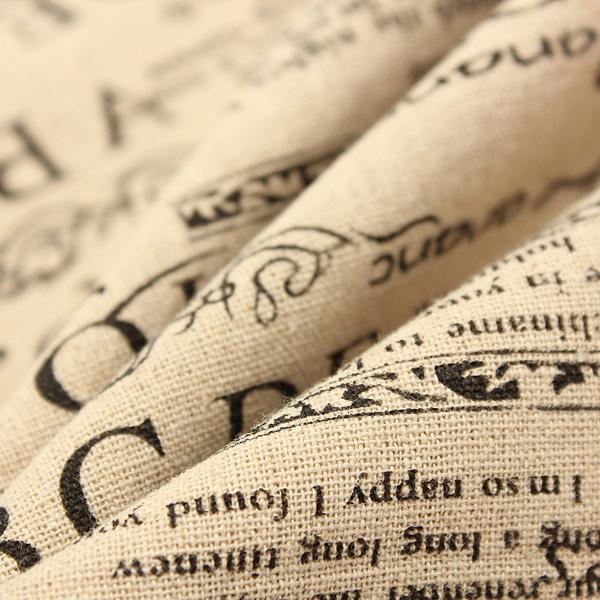 Home Decor Vintage Cotton Linen Back Waist Cushion Cover Pillow Case