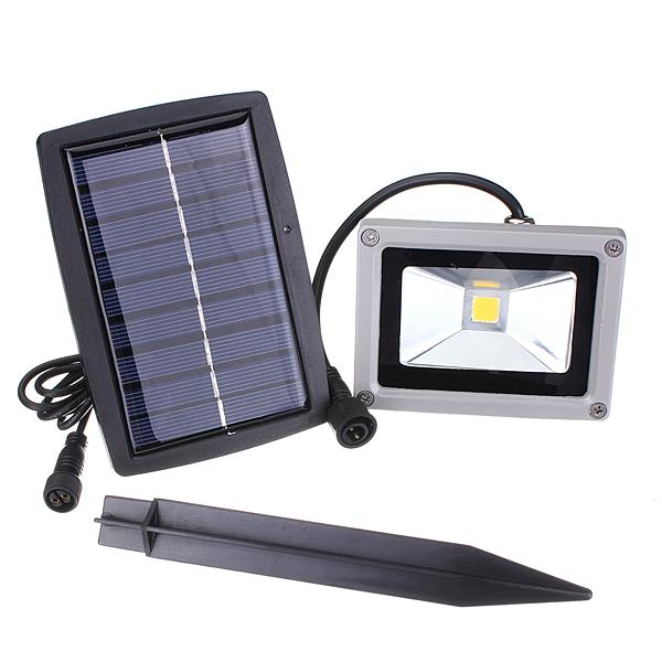 Solar Lights Lazada: 10W Solar Power LED Flood Light (Warm White)