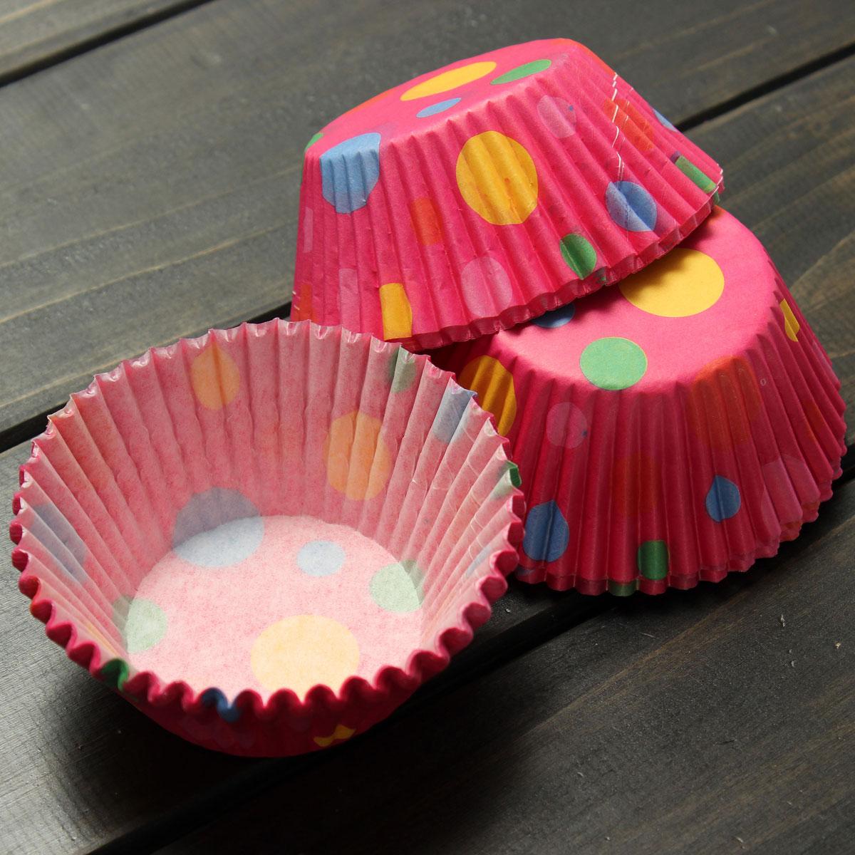 100pz pirottini in carta per muffin o cupcake torte forno - Forno ventilato per torte ...