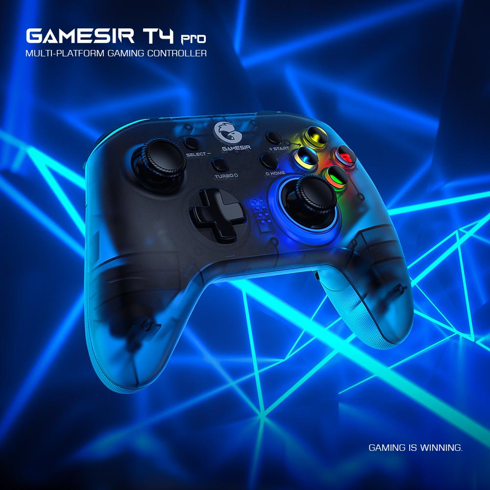 Bộ Điều Khiển Không Dây GameSir T4 Pro, Phụ Kiện Trò Chơi Bluetooth Type-C Có Thể Sạc Lại thumbnail