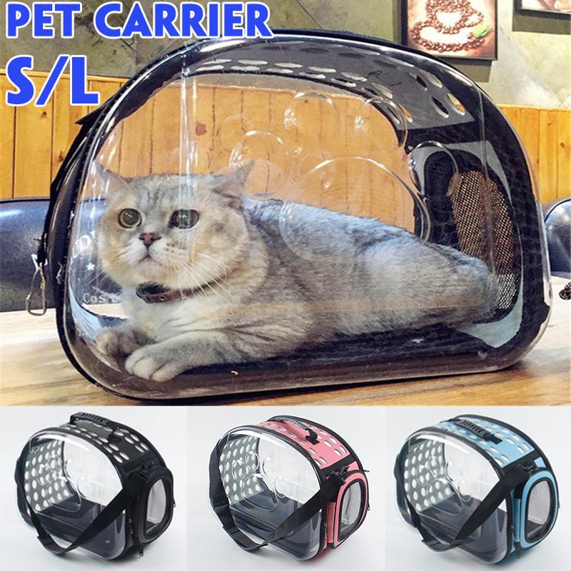 Túi Mang Theo Thú Cưng Trong Suốt, Ba Lô Túi Du Lịch Không Gian Cho Chó Mèo