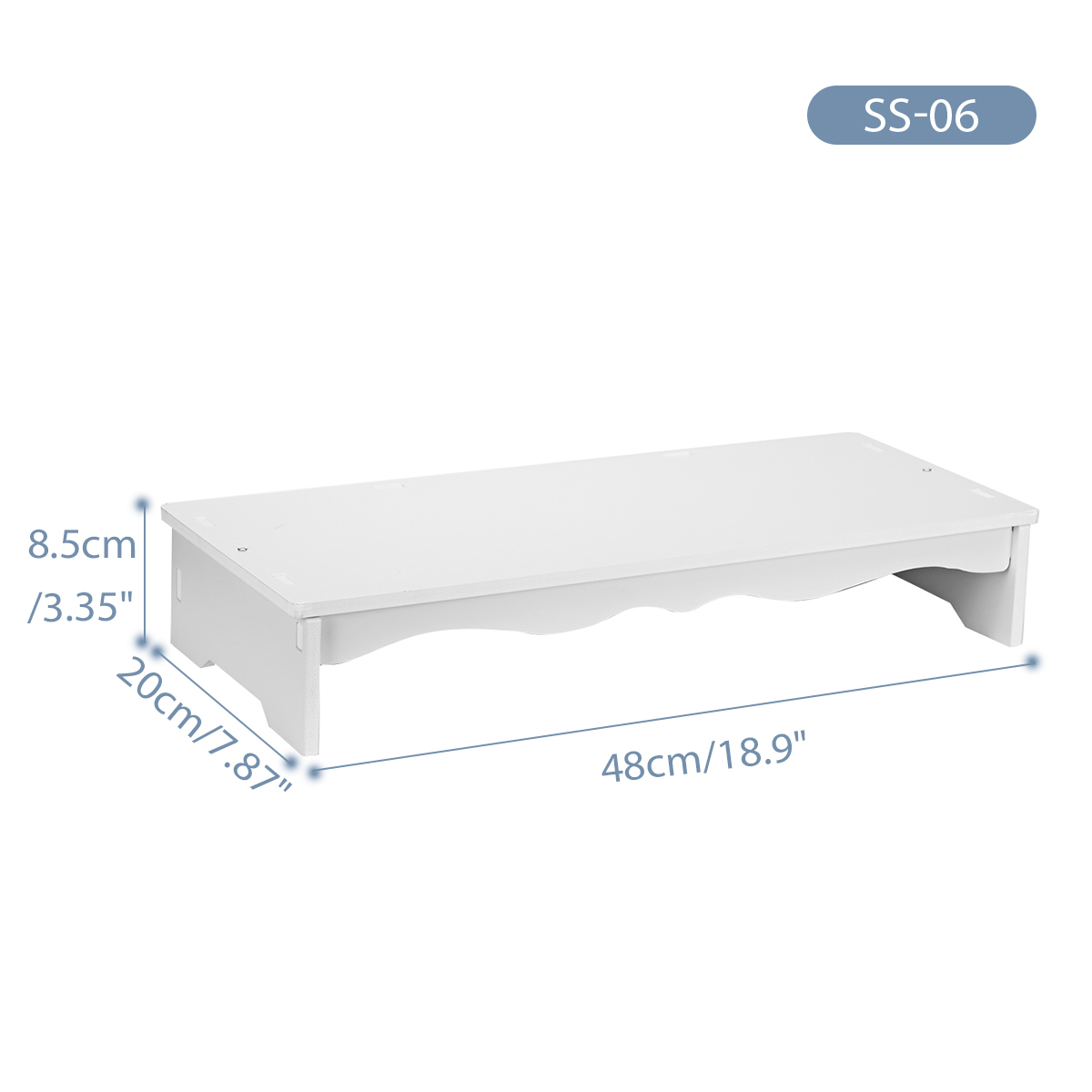 Bảng giá Giá Đỡ Máy Tính Màn Hình LED LCD Bằng Gỗ Máy Tính Để Bàn Chủ, Ngăn Kéo Đựng Tài Liệu Phong Vũ