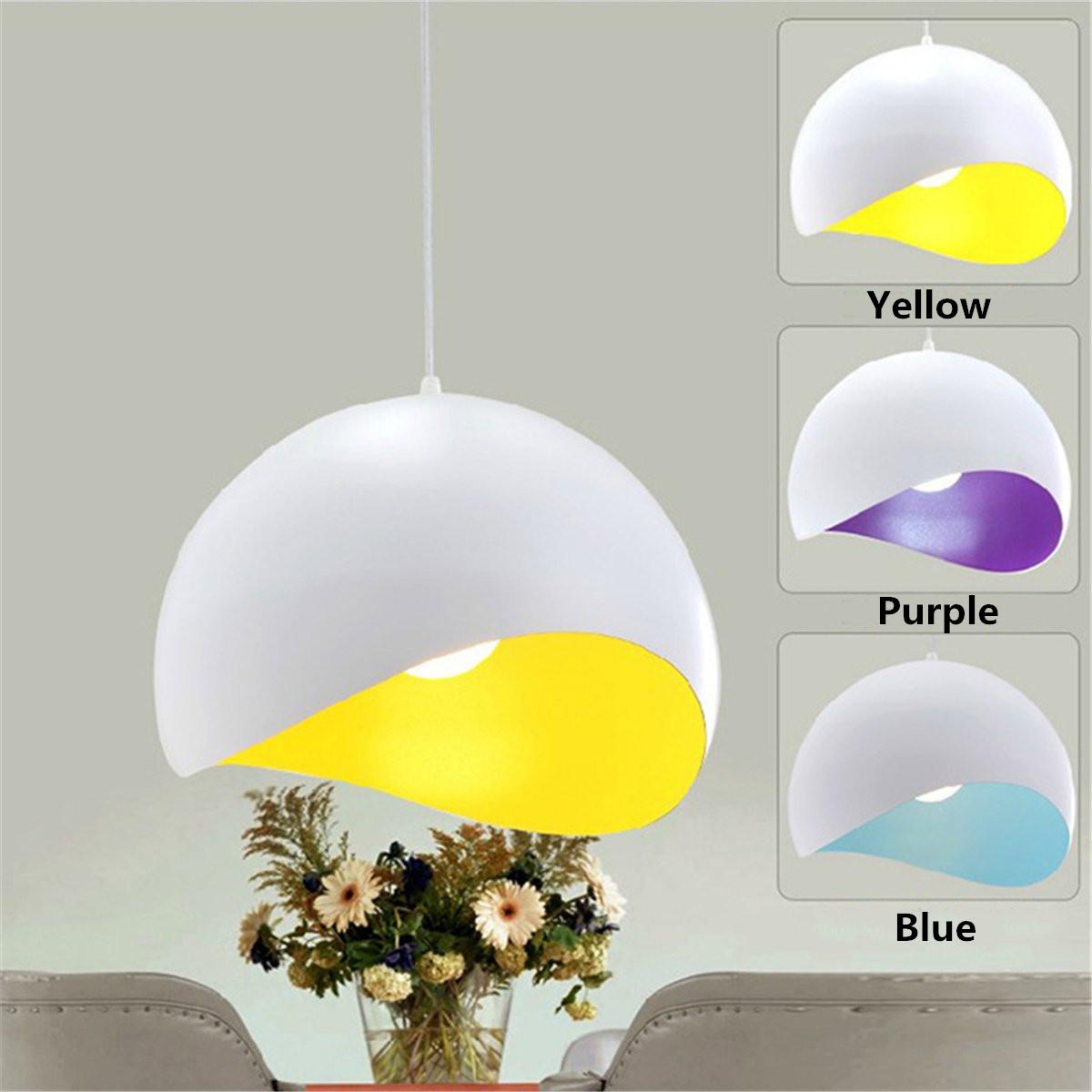 Abat jour rond lampe suspension lustre pendante plafonnier for Abat jour pour lampe de salon