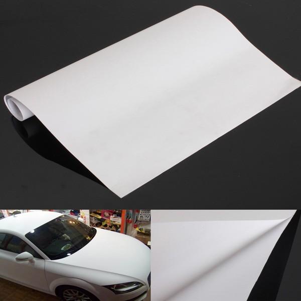 150x30cm White Gloss Self Adhesive Car Vinyl Film Sticker Tint