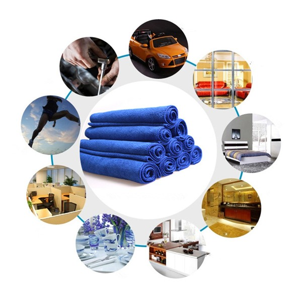 Microfiber Super Absorbent Cleaning Drying Cloth Auto Car Wash TV Cleaner Towel