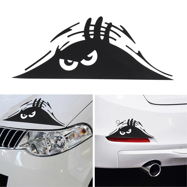 Other parts accessories funny peeking monster auto car walls windows sticker vehicle car decals was listed for r44 51 on 15 feb at 1747 by