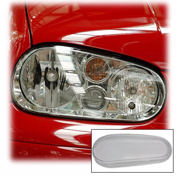 Right passenger Side Glass Headlight Lens Housing For 99-05 VW MK4 Golf GTI R32