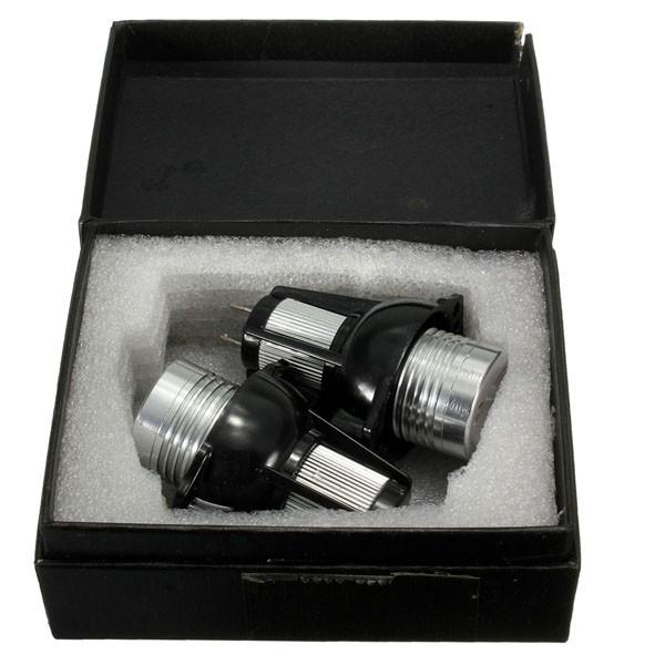 12V LED Headlight Angel Eyes Halo Rings Bulb Lamp Blue Light for BWM E90 E91