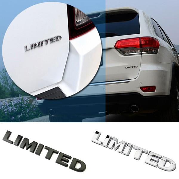 3D Metal LIMITED Emblem Decal Car Bumper Truck Grill Fender Sticker Logo Badge
