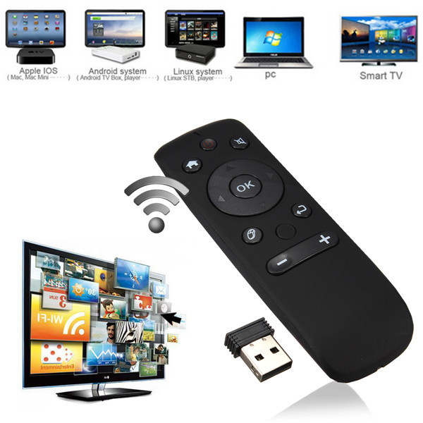 T31 3in1 2.4GHz Wireless Remote Controller Air Fly Mouse for Android TV Box PC