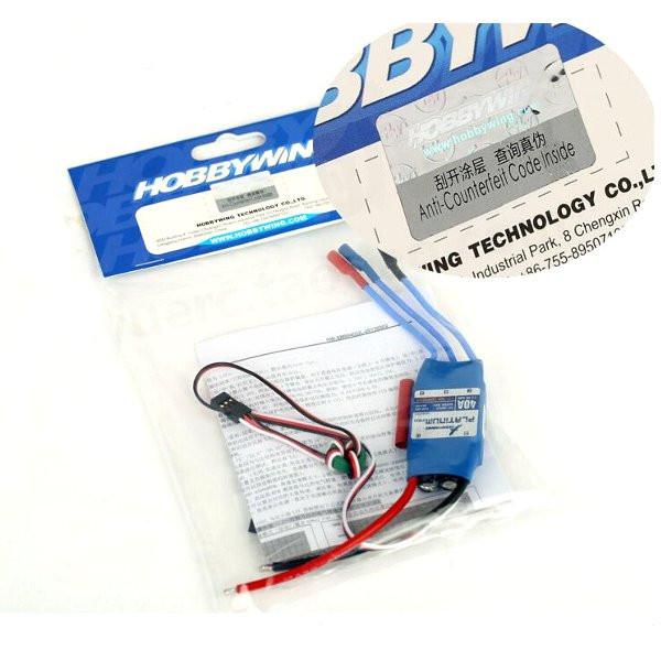 HobbyWing Platinum 40A PRO Brushless ESC Speed Controller For RC Model