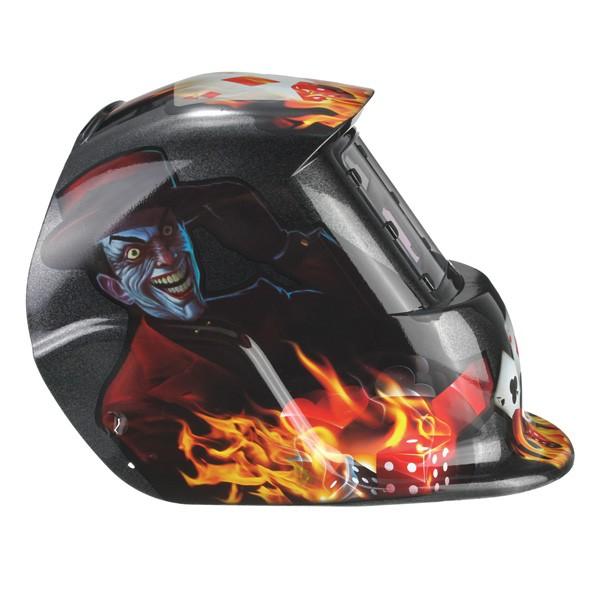 Joker Card Auto Darkening Welding Helmet Arc Tig Mig Grinding Welders Mask