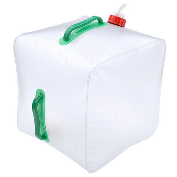 5L Car-used Transparent Folding Water Bag Bottle Camping Water Bladder Water Carrier Container