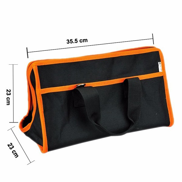 c5c9100053 JAKEMY JM-B01 Large Professional Tool Bag Multifunctional Electrician Tool  Bag 35.5x23x23cm