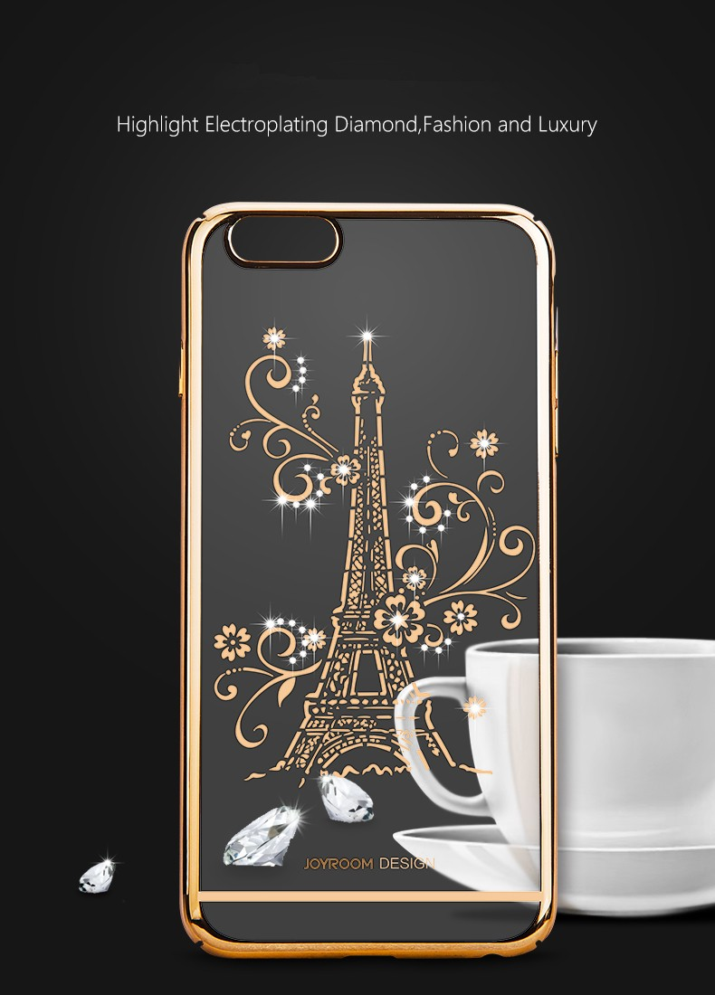 Joyroom Highlight Electroplating Diamond Protection Case For iPhone 6 6S