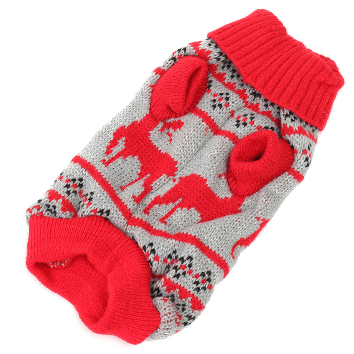 Pet Dog Christmas Jumper Sweater Coat Puppy Doggy Cat Winter Warm Clothes Costume