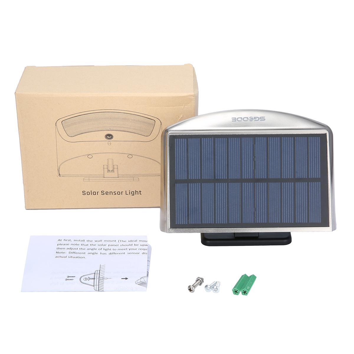 Solar lights outdoor motion sensor lights sgodde 36 led waterproof sgodde 36 led solar security light package mozeypictures Gallery