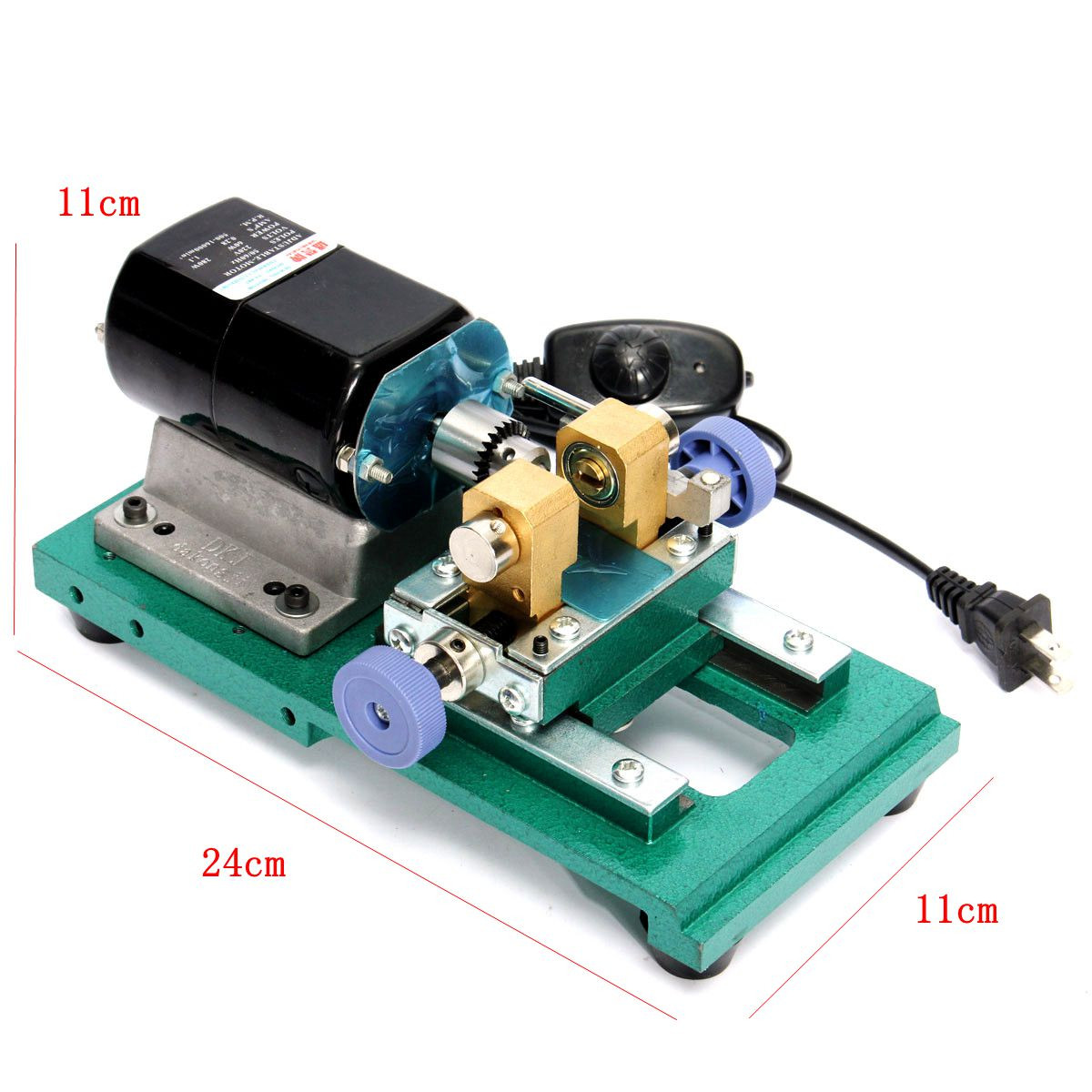 Drillpro 110V/220V Pearl Drilling Holing Machine Driller Full Set Jewelry Tools