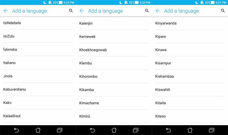 Asus ZenFone 4 X015D 5.5 Inch 5000mAh 3GB RAM 32GB ROM MT6750 1.5GHz Octa core 4G Smartphone