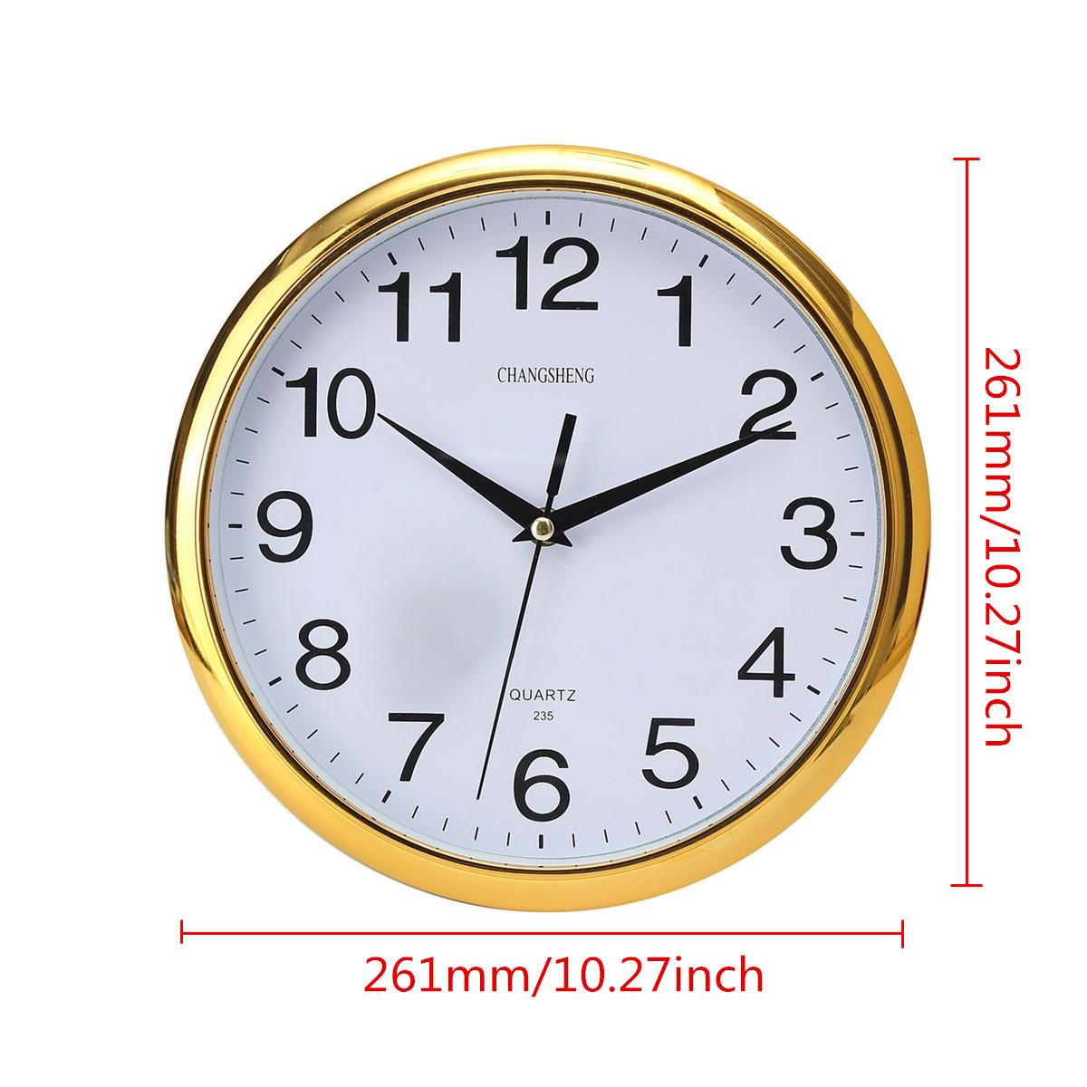 Horloge murale ronde vintage maison moderne cuisine temps for Horloge murale 3 cadrans