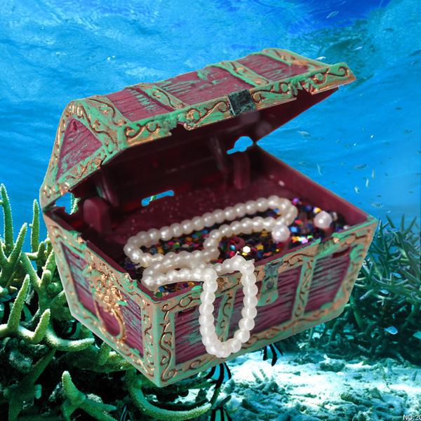 Decoration Aquarium Plongeur