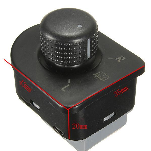 bouton commande vitre chaleur r troviseur interrupteur pr vw mk4 b5 eu golf gti achat vente. Black Bedroom Furniture Sets. Home Design Ideas