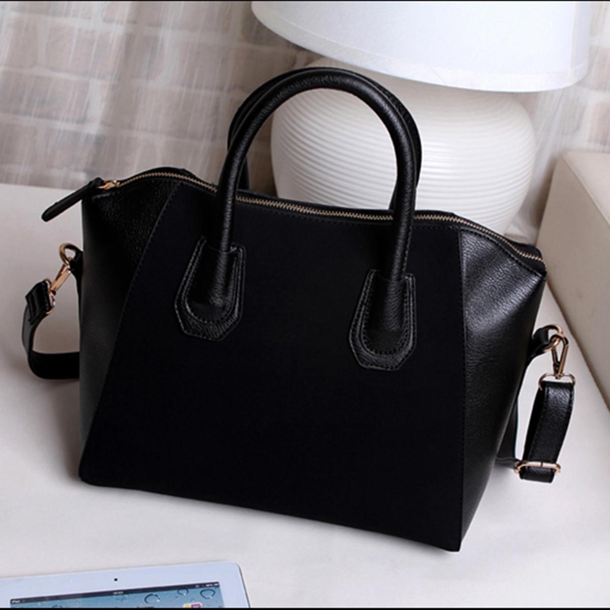 Women Leather Shoulder Handbag Ladies Messenger Satchel Crossbody ...