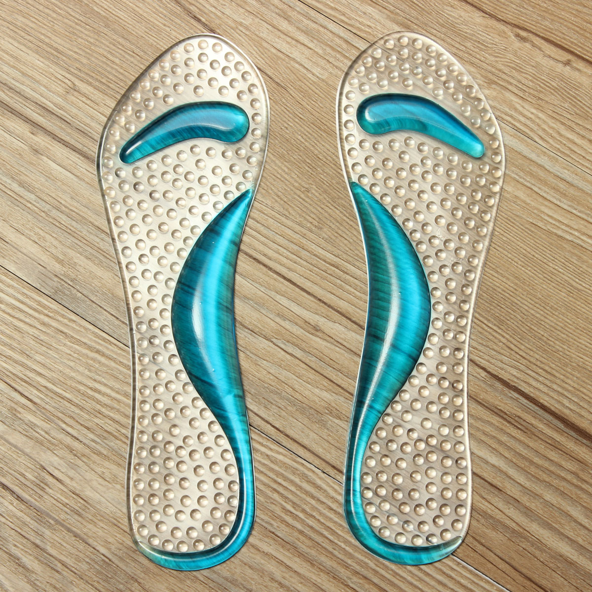 non slip sandals high heel arch cushion support silicone