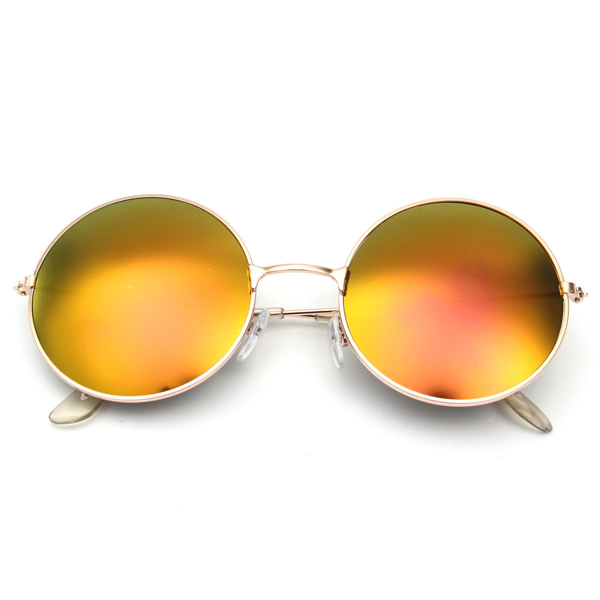 Big Frame Glasses Singapore : Retro Vintage Men Women Big Round Metal Frame Sunglasses ...