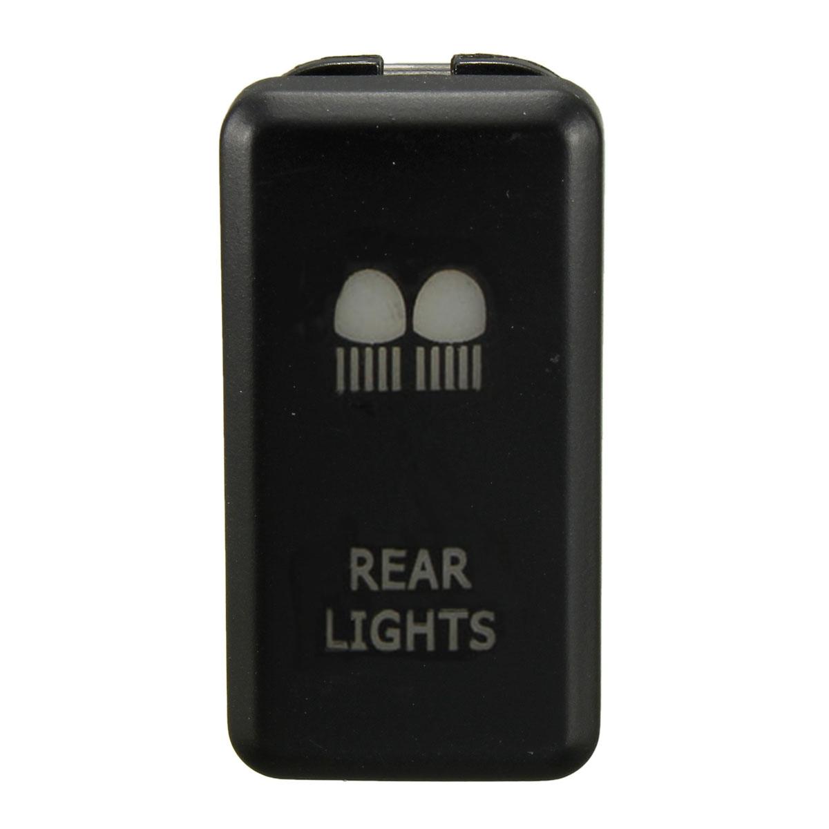 car led fog light bar push switch for toyota landcruiser