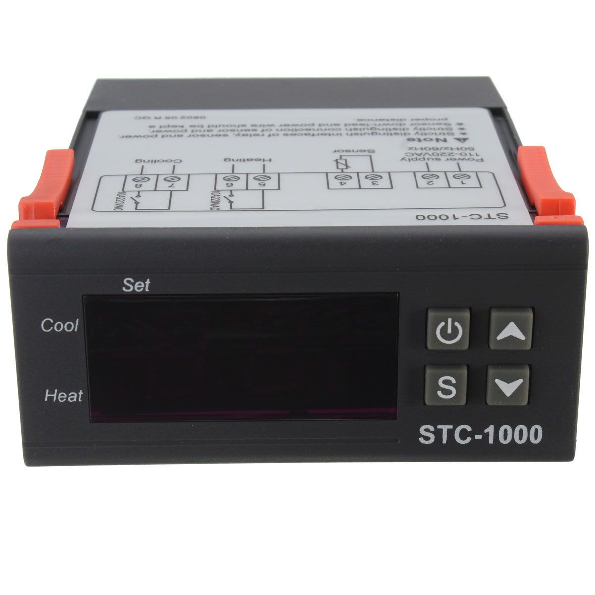 Digital STC 1000 Temperature Controller Thermostat With Sensor 220V  #B02C1B