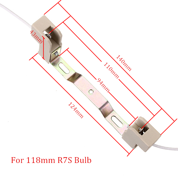 ampoule r7s led 118mm awesome pcs lamparas smd bulb rs led ampoule corn mm mm mm mm dimmable. Black Bedroom Furniture Sets. Home Design Ideas