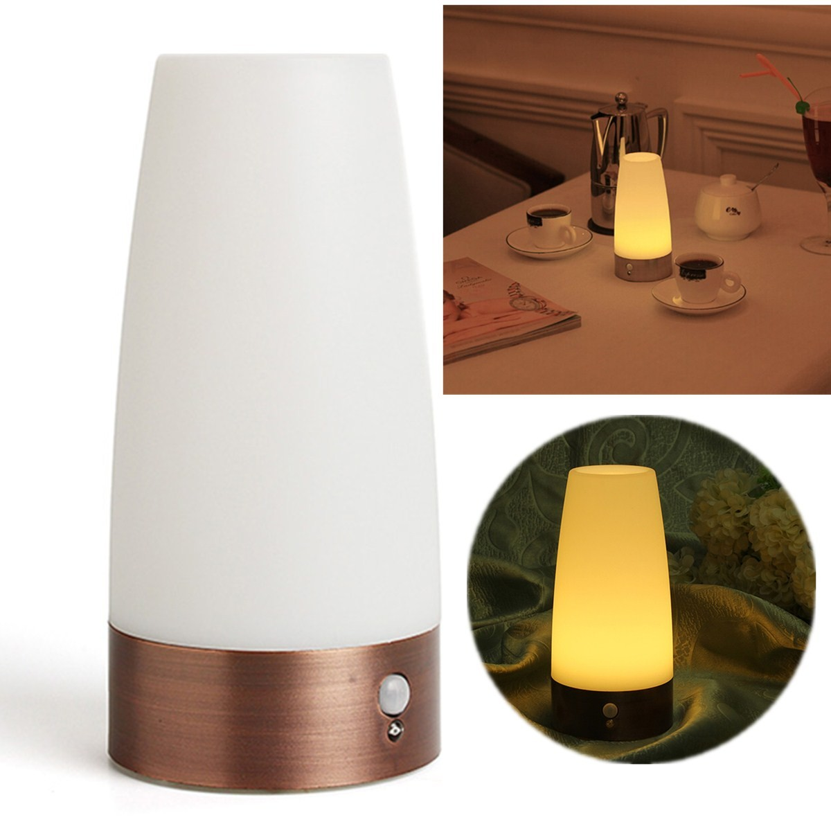 Lampe De Chevet Sans Fil : lampe chevet sans fil hoze home ~ Teatrodelosmanantiales.com Idées de Décoration