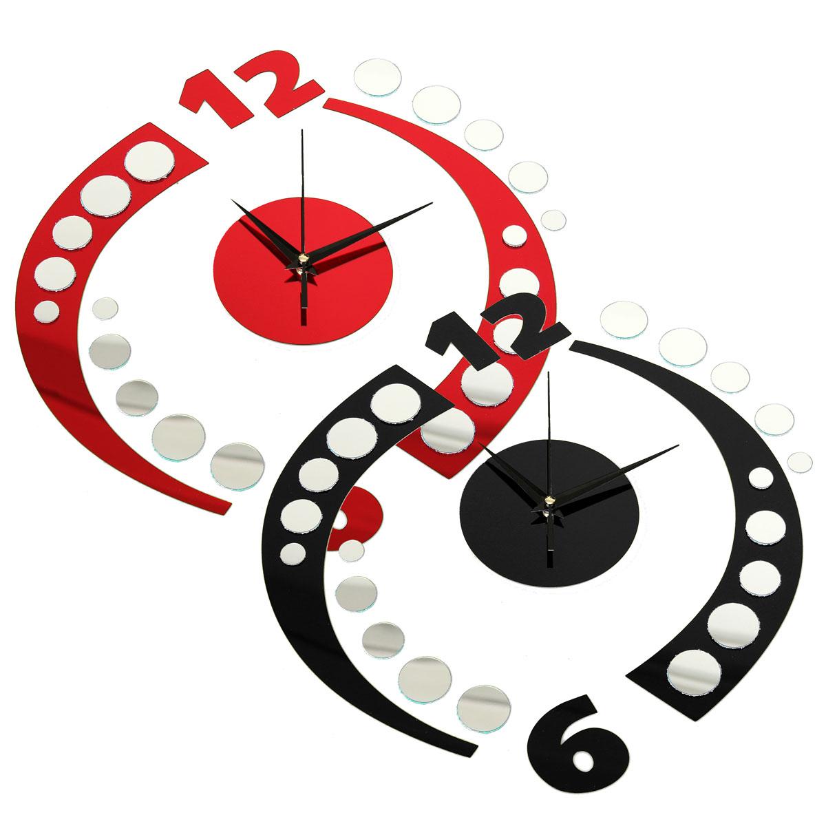 office clock wall. 3D Modern Frameless Wall Clock Crystal Mirror Sticker Hours DIY Home Decoration | EBay Office K
