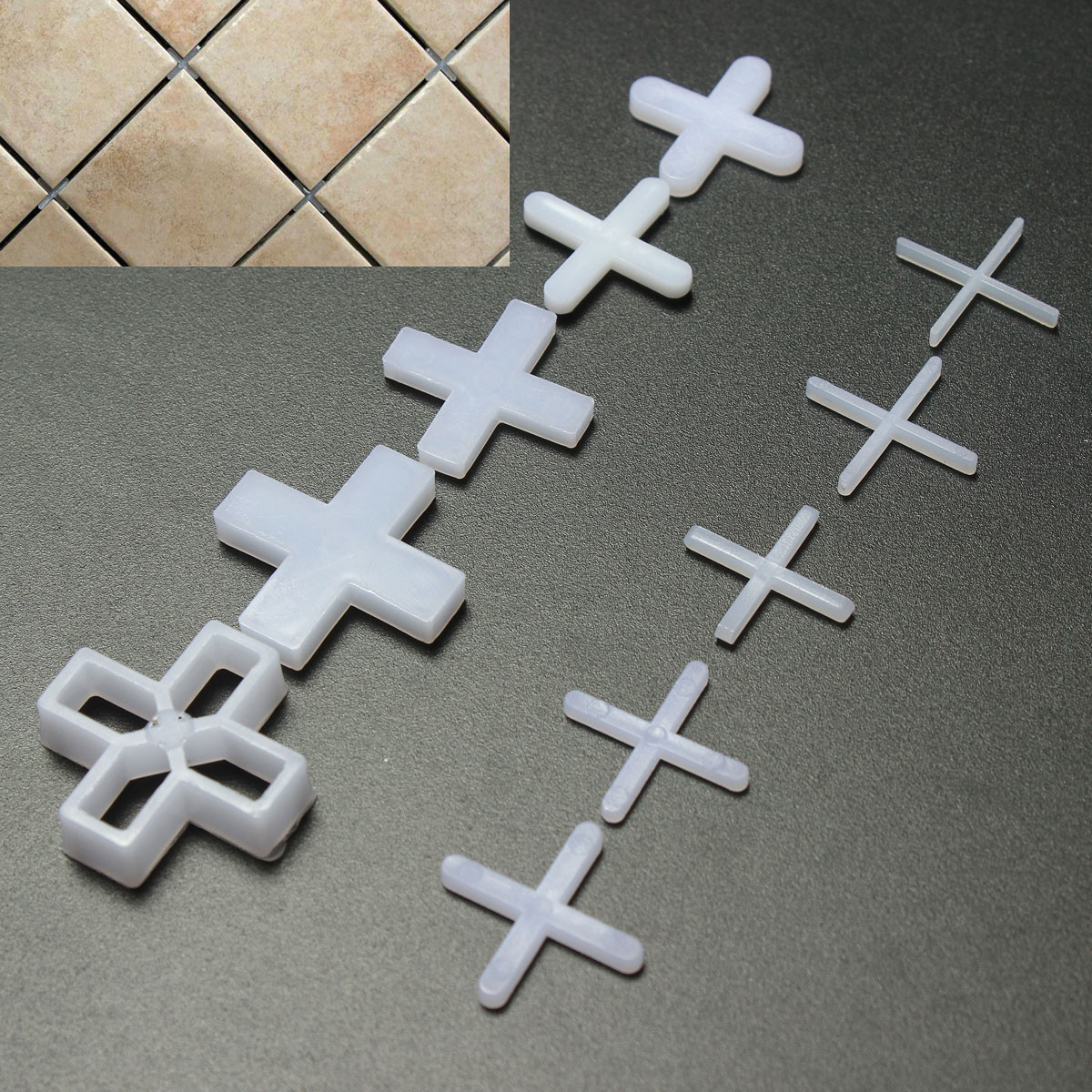 100x wall floor tile spacers cross 6mm tiling ceramic for 10mm floor tile spacers