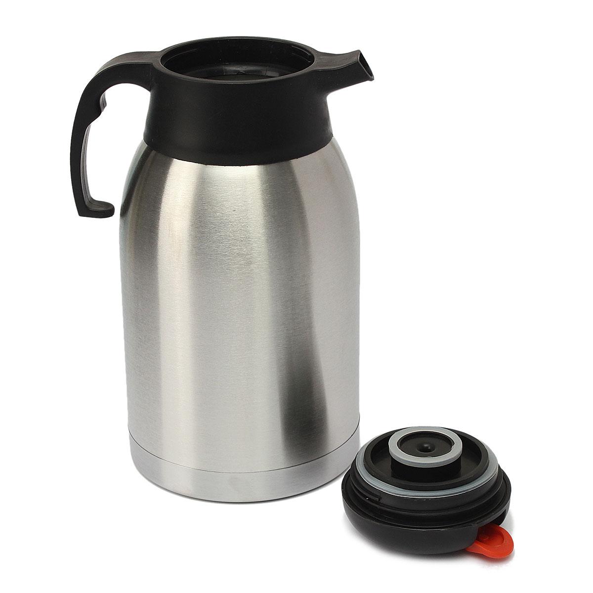 Bouilloire Isotherme en ce qui concerne 2l thermos cruche bottle bouilloire vacuum bouteille en acier