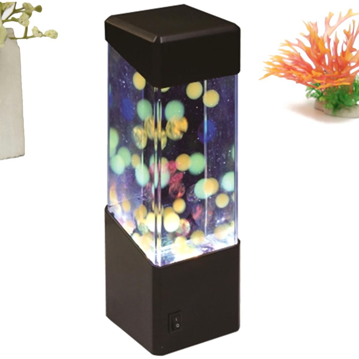 Led aquarium poisson d coration lampe veilleuse design for Poisson decoration aquarium
