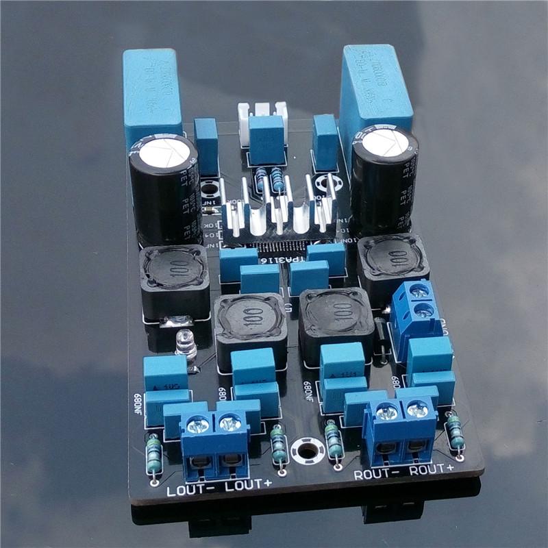 ARCELI 150W TPA3116D2 Audio Haute Puissance Mono St/ér/éo num/érique Amplificateur de Puissance DC12-24V pour Voiture Home Theater DIY Audio Audio