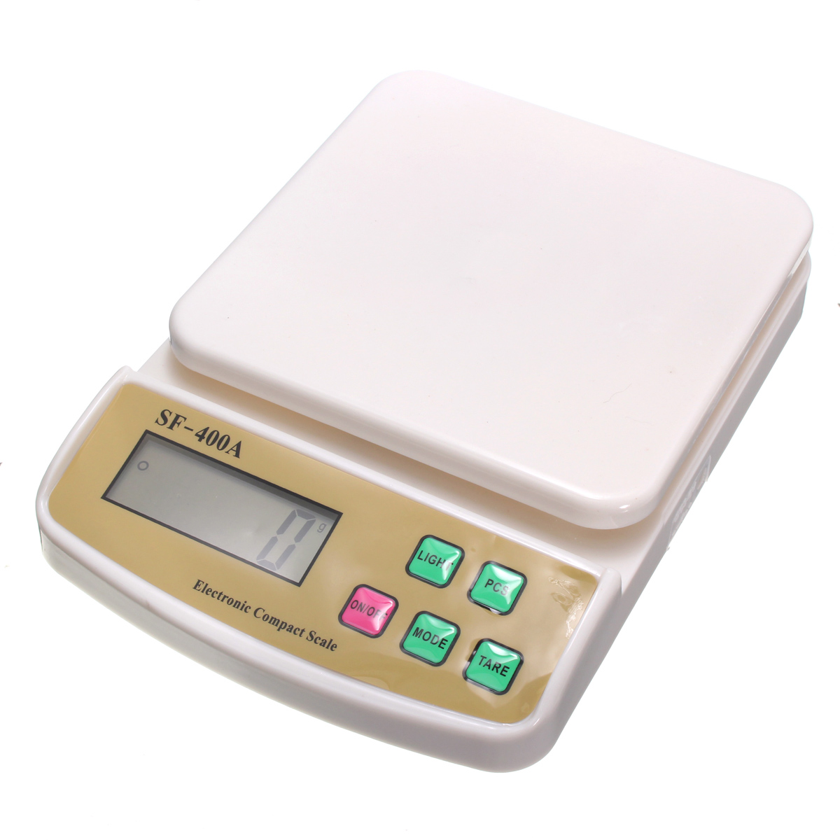 1pcs sf 400a digital scale for household use 10kg 1g for 0 1g kitchen scales