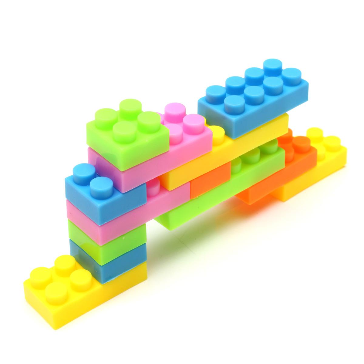 3sets Each 144pcs Plastic Building Blocks Children Kids