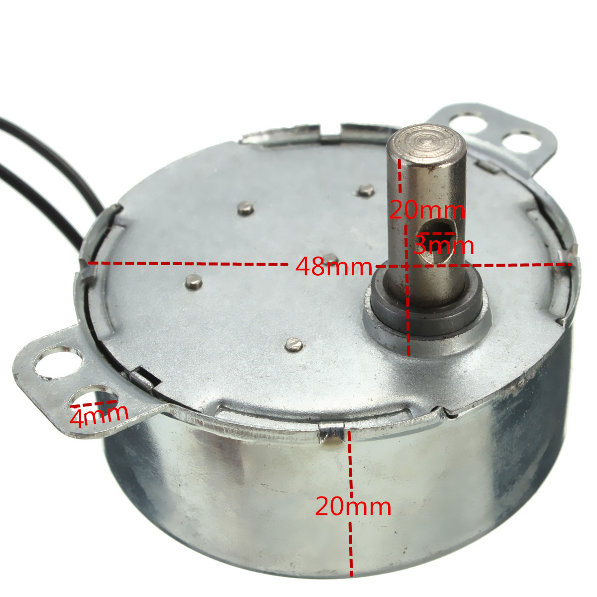 2 5 3rpm Turntable Synchronous Motor 220 240v Ac 4w For Microwave 731943024661 Ebay
