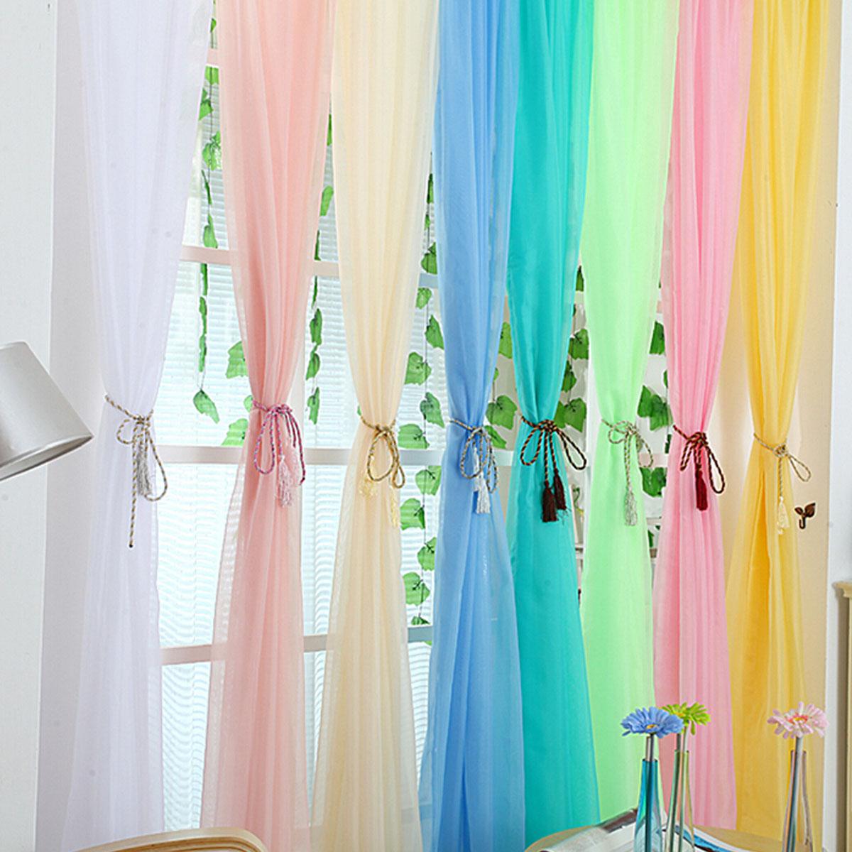 Tempsa rideau de fen tre en fil pour mariage soir e vert for Taille rideau fenetre